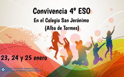 ENCUENTRO-CONVIVENCIA 4º ESO