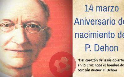 CELEBRACIÓN DEL NACIMIENTO DEL P. DEHON