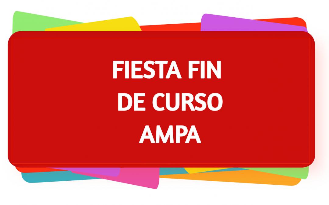 FIESTA FIN DE CURSO AMPA