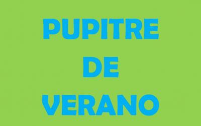 PUPITRE DE VERANO 2019