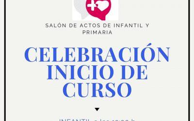 CELEBRACIÓN INICIO DE CURSO