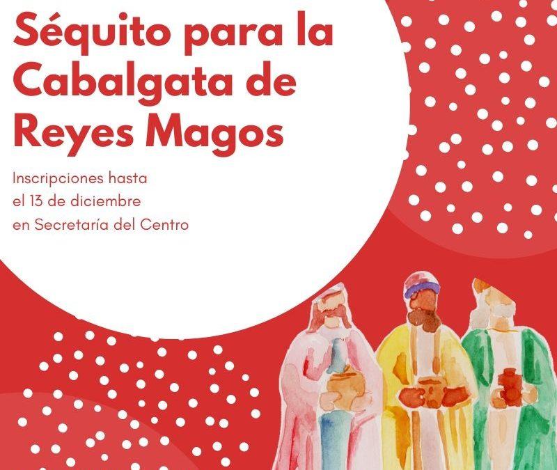 SÉQUITO DE LOS REYES MAGOS