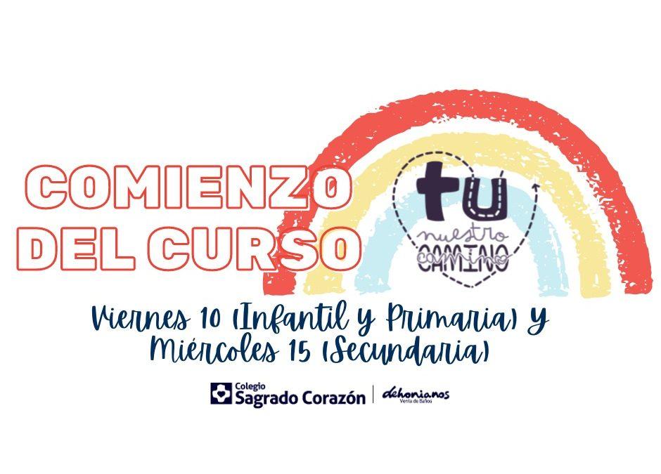 COMIENZO DEL CURSO 2021-2022