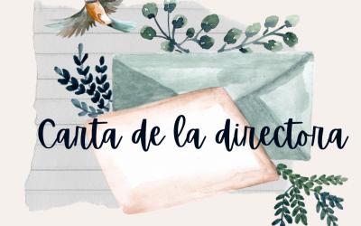 CARTA DE LA DIRECTORA