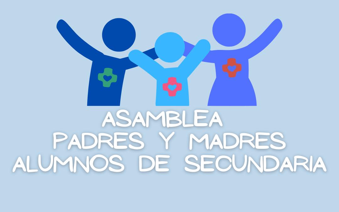 ASAMBLEA PADRES Y MADRES ALUMNOS DE SECUNDARIA